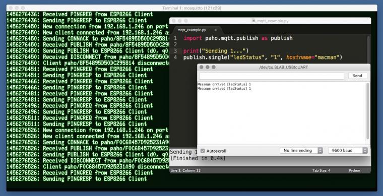 MQTT Tutorial for Raspberry Pi, Arduino, and ESP8266
